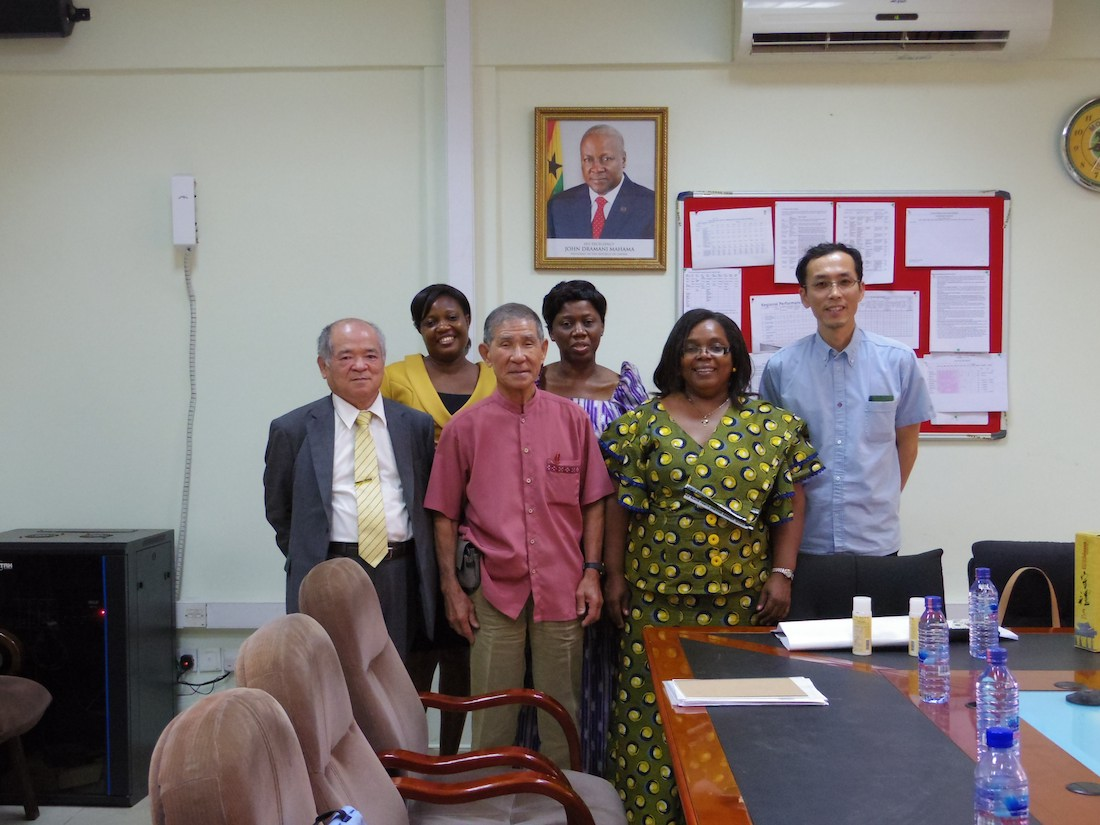 ガーナヘルスサービス副総裁と